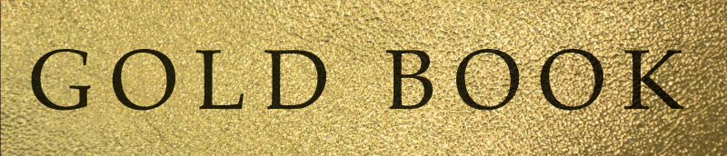 gold book header