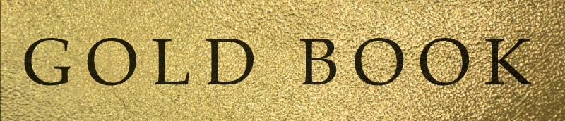 gold book header
